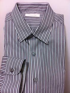 NWT$425 Ermenegildo Zegna Italian gorgeous dress & casual shirt  XXL,46US/56 #ErmenegildoZegna #ButtonFrontdresscasual