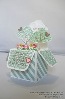 The Craft Spa - Stampin' Up! UK independent demonstrator : Sprinkles of Life for Fancy Fold Friday