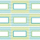 "Blank chevron labels to use in the classroom.  Use the ""Add Text"" button to add names, etc. to the labels...."