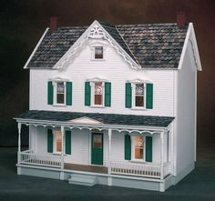 Vermont Farmhouse Dollhouse Kit