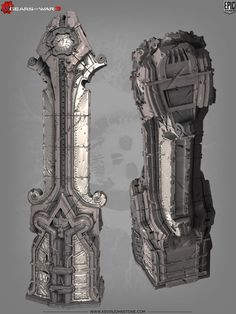 Gears of War 3 environment art