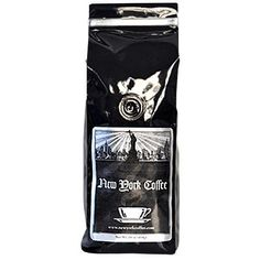 New York Coffee Espresso SWP Decaf 1lb Bag Ground Coffee -- Click on the image for additional details. (This is an affiliate link) #GroundCoffee