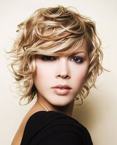 Wish if I cut my hair short it would look like that...it wouldn't...