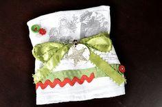 DIY Tea Towel Tutorial - cute gifts for Christmas