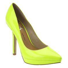 Zapato de tacón fluor de Nine West