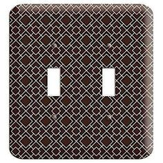 The Asian Square Pattern 2 Toggle Wallplate are very unique and cannot be found anywhere else. These USA made metal wall plates are highly detailed and made with some of the newest UV imaging technology available resulting in photograph quality prints on durable metal switchplates.