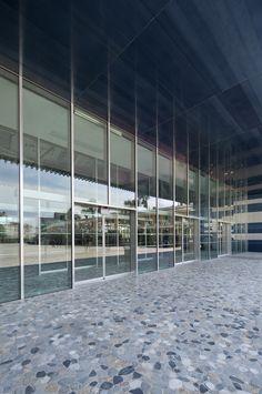 Hôtel de Ville de Montpellier - Menuiseries aluminium Kawneer