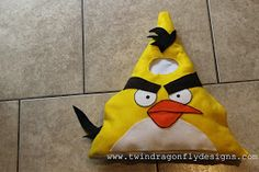 Dragonfly Designs: ANGRY BIRDS ~ Costume Tutorial and Patterns
