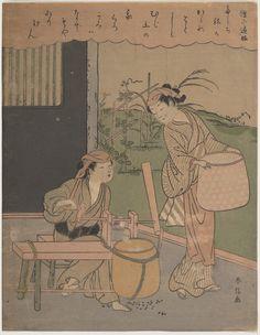 Suzuki Harunobu   Poem by Henjō Sojō   Japan   Edo period (1615–1868)   The Met