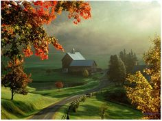 vermont.. this looks like a painting!