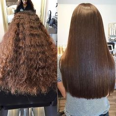 25 luxurious brazilian blowout hairstyles — before and after pics you won&a Brazilian Blowout Hairstyles, Brazilian Blowdry, Brazilian Hair, Brazillian Blowout, Straight Hairstyles, Cool Hairstyles, 1950s Hairstyles, Color Correction Hair, Hair Smoothening