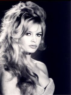 Wedding Hairstyle Inspiration: Iconic Vintage Hairstyles – Part 1:  Brigitte Bardot: Mussed Up Blonde