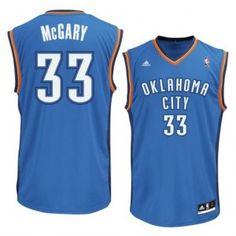 7061e4124 Oklahoma City Thunder No.33 Mitch McGary 2014 NBA Draft Pick Light Blue  Men s Basketball Jersey