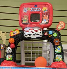 Get them loving sports at an early age with this great basketball/soccer combo! From VTech ($20) #gentlyused #buysellrepeat #baby #infants #toddlers #fayettevillemoms #fortbraggnc #fayettevillenc #children #kids #onceuponachildfayettevillenc Infants, Arcade Games, Toddlers, Basketball, Age, Toys, Children, Sports, Young Children
