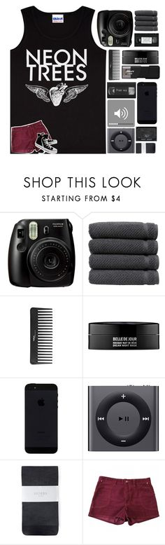 """Neon trees"" by mint-green-macaroonn ❤ liked on Polyvore featuring Fujifilm, Linum Home Textiles, Sephora Collection, Kenzoki, Apple, Hobbs, Étoile Isabel Marant and Converse"