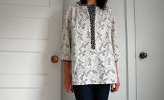 Stylish Dress Book 'V', Tunic Version by the workroom, via Flickr