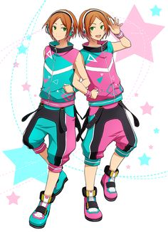 Ensemble Stars | Aoi Hinata & Aoi Yuuta | 2wink by あきら | Member Pixiv ID 113727