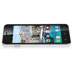 "DOOGEE VALENCIA DG800 Blanco Unlocked Movil 3G Con Pantalla de 4.5"" Pulgadas IPS Smartphone Android 4.4 KitKat MTK6582 Dual SIM Quad Core de 1G RAM + 8G ROM Con Camara 8.0MP GPS WIFI T-Mobile Movistar vodafone Orange O2 Yoigo ES"