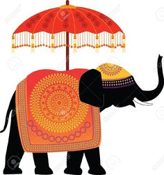 decorated indian elephant - Google Search