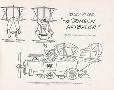 Wacky Races - Crimson Hayballer