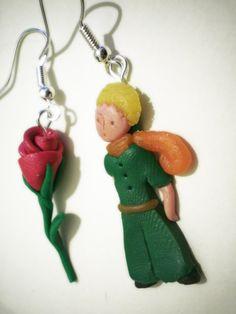 Le Petit Prince earrings!!! :O