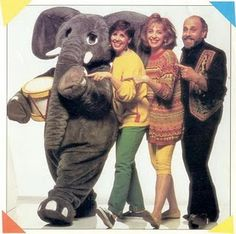 "Sharon, Lois and Bram!!! ""One elephant went out to play, upon a spiders web one day..."" holy cowwwww. The best part is that as a mother, this show now would make me question humanity."