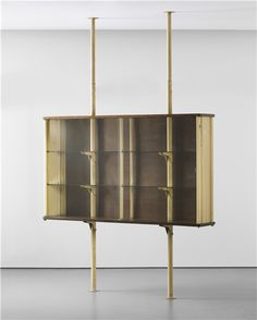 Jean Prouvé - Suspended cabinet, designed for Ferembal House, Nancy