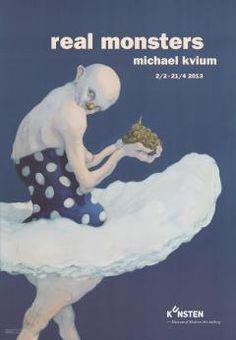 Michael Kvium Real Monsters - naked eye
