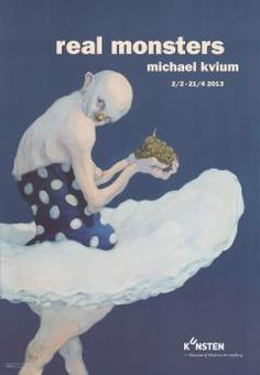 Michael Kvium Real Monsters - naked eye