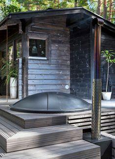 Cabana, Sauna House, Amazing Swimming Pools, Sauna Design, Chalet Design, Cabin Chic, Backyard Office, Landscape Architecture Design, Modern Cottage