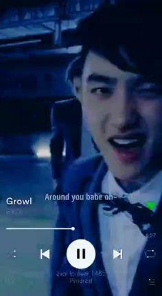 D O Exo, Exo 12, Exo Chanyeol, Korean Song Lyrics, Korean Drama Songs, Kd Quotes, Exo For Life, Exo Anime, Exo Music