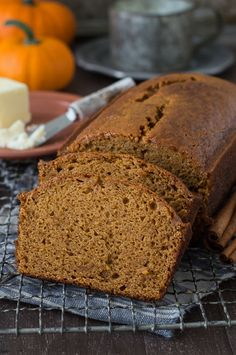 This recipe tastes just like Starbucks Pumpkin Pound Cake - takes 15 minutes to prep, you will want to share this with friends and family! Can be made in muffin, mini muffin or mini loaf pans. Starbucks Pumpkin Pound Cake Recipe, Starbucks Pumpkin Bread, Pumpkin Loaf, Pumpkin Spice, Starbucks Recipes, Pumpkin Recipes, Fall Recipes, Copycat Recipes, Cooking Recipes