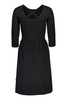 Cross Dress, Black – Kaiko Clothing Sustainable Clothing, Sustainable Fashion, Sustainable Style, Ethical Fashion Brands, Ethical Clothing, Fair Trade Clothing, Cross Shirts, Oeko Tex 100, Clothing Company