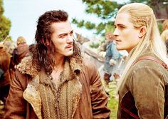 Booktalk & More: The ABCs of Bookish Romance - Luke Evans and Orlando Bloom