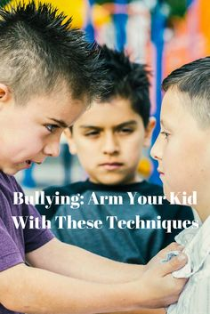 Is Your Kid Being Bullied? Arm him with these techniques