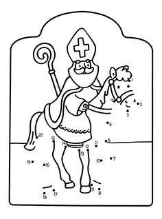 Kindergarten, Catholic Crafts, Saint Nicholas, Holiday Traditions, Preschool Activities, Diy For Kids, Christmas Time, Party Themes, Coloring Pages