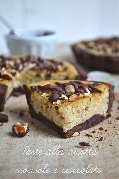I dolci nella mente: Tarte alla ricotta, nocciole e cioccolato
