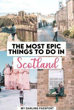 Scotland Travel Guide, Scotland Vacation, Scotland Road Trip, Europe Travel Guide, Ireland Travel, Travel Guides, Places To Travel, Travel Destinations, London Travel