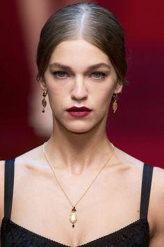 Dolce & Gabbana - Spring/Summer 2015: Jewelry Trends   - HarpersBAZAAR.com