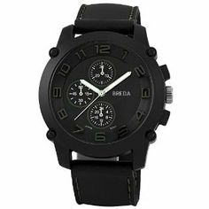 #Breda 8135 Brown Colton Accented Silicone  women watch #2dayslook #new #watch #nice  www.2dayslook.com