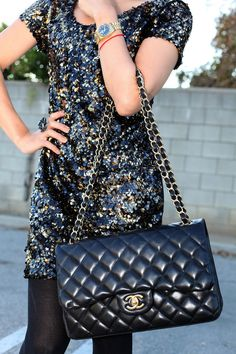 sequins and chanel