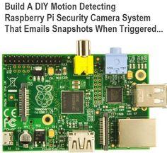 Build A DIY Motion Detecting Raspberry Pi Security Camera System…