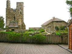 Tor House And Hawk Tower - Built For poet Robinson Jeffers - Once upon a time..Tales from Carmel by the Sea, CA