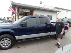 """Salesmen were very friendly and easy to work with"" -Joe M. Thanks Joe, and a BIG thanks from The Auto Group! We really appreciate the opportunity to earn your business and hope you enjoy your new Ford F150!"