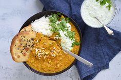 Tikka Chicken Masala – Bedste opskrift på den indiske ret Garam Masala, Chana Masala, Tika Massala, Chicken Tika, Chicken Tikka Masala, Masala Recipe, Food For Thought, Main Dishes, Dinner