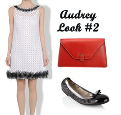 Another Audrey inspired outfit.