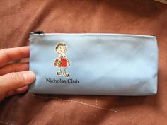 NICHOLAS CLUB PENCIL CASE GOSCINNY ISEMPRE stationery rule pencil stamp badge  in Home, Furniture & DIY, Stationery & School Equipment, Pencil Cases | eBay!