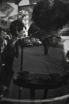 "greeneyes55: "" Reflections ca. 1953 Photo: Saul Leiter """