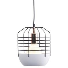 Zuo Chill Ceiling Lamp - Black/White  $198.99