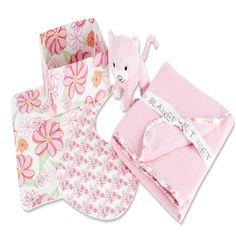 Trend Lab Hula Baby 5 Piece Box Gift Set